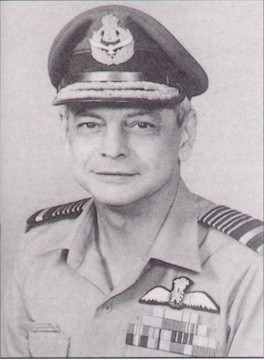 Air Chief Marshal Denis Anthony La Fontaine